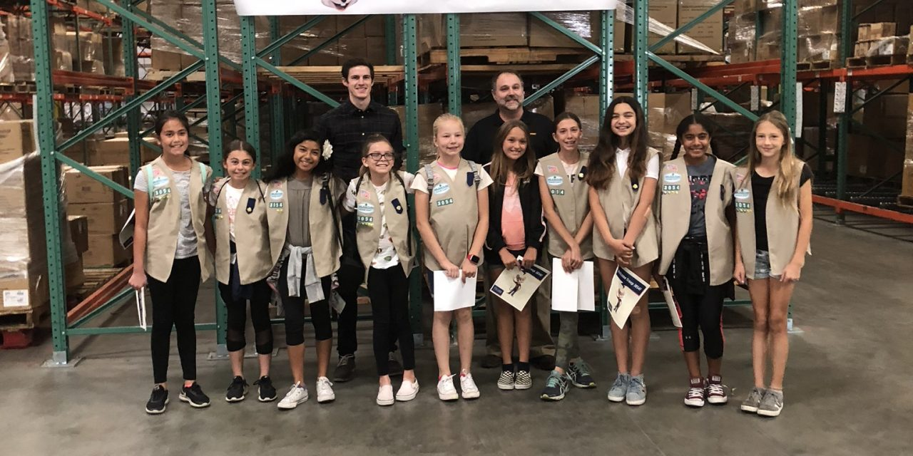 Girl Scouts Troop Visit