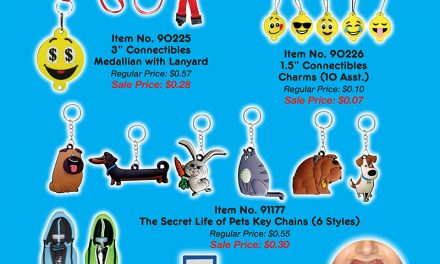 Still need a collectible? How about a participation prize? HERE ARE SOME FUN ONES!